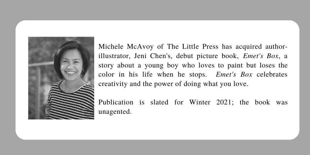 Jeni Chen's debut picture book Emet's Box